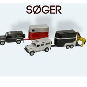 SØGER..... Jeg søger en legetøjsbil m - Aalborg  - SØGER..... Jeg søger en legetøjsbil med en lukket trailer. Muligvis en heste trailer som den på billedet. Er der nogen der kan hjælpe? ☺ Farve m.m er underordnet.. - Aalborg