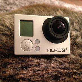 GoPro hero3+ black Only used once last s - København - GoPro hero3+ black Only used once last summer. Comes with 2 sd card, selfie stick and other accessories . Reason for selling is that I'm not using it often and planing to buy new phone so better to let go of it :). @ SOLD@ - København