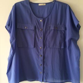 Second female bluse - mara shirt. 100% p - København - Second female bluse - mara shirt. 100% polyester. Blå. - København