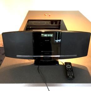 Phillips minianlæg med cd-afspiller, ra - Esbjerg - Phillips minianlæg med cd-afspiller, radio og USB-indgang. Prisen eller BYD - Esbjerg