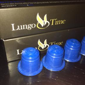 28 kapsler kaffe fra LungoTime, som er k - Århus - 28 kapsler kaffe fra LungoTime, som er kompatible med Nespresso. Sælges pga. fejlkøb. - Århus
