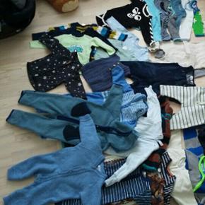 Blandet tøj til dreng i str. 62-68 (3-6 - Skanderborg - Blandet tøj til dreng i str. 62-68 (3-6 måneder ) Rigtig god stand, som ny ☺ - Skanderborg