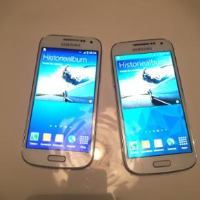 2 stk velholdt Samsung Galaxy s4 mini. M - Esbjerg - 2 stk velholdt Samsung Galaxy s4 mini. Medfølger lader. (1 for 600kr, 2 for 1000kr) - Esbjerg