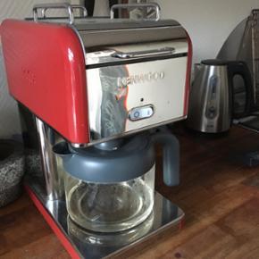 Kenwood kaffemaskine. Fra hjem uden røg - København - Kenwood kaffemaskine. Fra hjem uden røg nær Nørrebro st. - København
