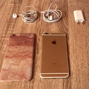 Iphone 6 Plus 16 GB 1 år gammel, medfø - Nykøbing F - Iphone 6 Plus 16 GB 1 år gammel, medfølger original iPhone (oplader og høretelefoner, og panserglas og cover). Går ikke under 2500kr. Kun seriøse bud TAK ☺️ - Nykøbing F