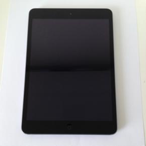 IPad mini 16 GB. Model nr.A1432 28.12.20 - København - IPad mini 16 GB. Model nr.A1432 28.12.2014 Kvittering haves. (ikke til simkort)iPad der fungere perfekt 100% upåklageligt,ingen ridser på skærm eller bagpå,Home knap virker upåklageligt og har aldrig haft problemer.Meget velholdt,Næsten - København
