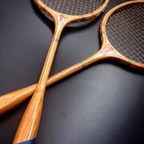 Badmintonketsjere fra 1950'erne Rigtig g - Herning - Badmintonketsjere fra 1950'erne Rigtig god stand 2 stk Samlet pris - Herning