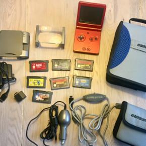 Gameboy Advance sp, fungere unden proble - Roskilde - Gameboy Advance sp, fungere unden problemer. En masse tilbehør medfølger - Roskilde