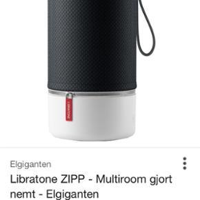 Libratone zipp højtaler. 3 mdr gammel,  - Holbæk - Libratone zipp højtaler. 3 mdr gammel, helt som ny inkl. kvittering, æske osv. - Holbæk