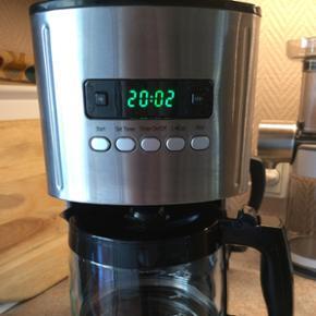 Kaffemaskine med drypstop og timer, så  - Frederikshavn - Kaffemaskine med drypstop og timer, så kaffen er klar når du står op