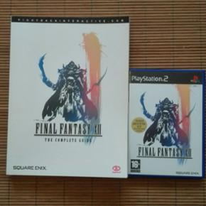Final fantasy 12 med official stategy gu - Odense - Final fantasy 12 med official stategy guide - Odense