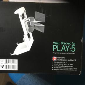 Sonos play 5 vægbeslag. Aldrig åbnet - København - Sonos play 5 vægbeslag. Aldrig åbnet - København