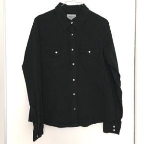 ПœDenim skjorte fra Global Funk 🐜 - - Aalborg  - ПœDenim skjorte fra Global Funk 🐜 - Størrelse medium - Aalborg