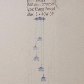 Klyngependel lampe, aldrig brugt og stad - Esbjerg - Klyngependel lampe, aldrig brugt og stadig i emballage. BYD - Esbjerg