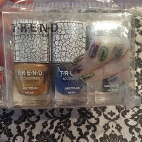 Neglelak fra TREND er som på billedet u - Vejle - Neglelak fra TREND er som på billedet udenpå, dog bare i de farver der ses - Vejle