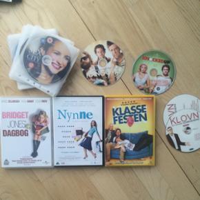 BILLIGE DVD'ER Med cover: Bridget Jones: - København - BILLIGE DVD'ER Med cover: Bridget Jones: 25,- Nynne: 25,- Klassefesten: 25,- Uden cover: Klovn (sæson 1): 25,- Knocked up: 15,- Hangover: 20,- Sex and the City (sæson 1-6): 100,- - København