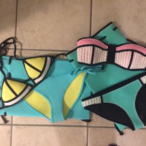 Bikinis fra triangl - god stand brugt f? - København - Bikinis fra triangl - god stand brugt få gange. Begge med matchende pose. Størrelse small. Nypris ca 700-800 pr bikini (ekskl levering og told) - København
