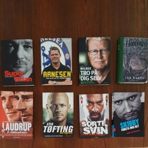 """Biografier af forskellige sportsstjerner - København - Biografier af forskellige sportsstjerner + Bogen """"Hobitten"""" Bøgerne kan købes samlet, men også hver for sig. Så det er bare at give et bud. - København"""