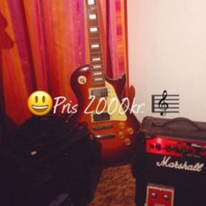 Guitar - guitar forstærker + effect + l - Hillerød - Guitar - guitar forstærker + effect + ledning - Hillerød