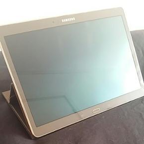 Samsung GALAXY Tab S. Farve: bronze. 32G - Horsens - Samsung GALAXY Tab S. Farve: bronze. 32GB. Inkl original samsung bronze farvet cover. INGEN ridser. MEGET Lidt brugt. Åben for realistisk bud