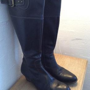 Billi Bi sorte støvler str. 38 xx-widde - Billund - Billi Bi sorte støvler str. 38 xx-widde. - Billund