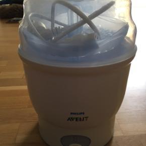 Avent sutte og flaske steriliserer. Alt  - Esbjerg - Avent sutte og flaske steriliserer. Alt tilbehør medfølger. Virker som den skal