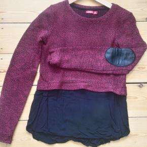 Bershka knitted blouse with cool elbow p - København - Bershka knitted blouse with cool elbow patch (both elbows) - København