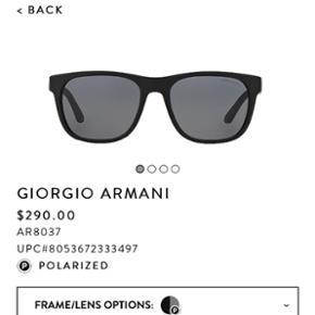 Sælger disse Giorgio Armani solbriller. - Viborg - Sælger disse Giorgio Armani solbriller. Højest brugt 4-5 gange. Købt i 2014. Nypris: 1960kr BYD! - Viborg