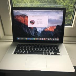 MacBook pro 15,4 Inch 2011 , processor i - København - MacBook pro 15,4 Inch 2011 , processor i7 , 2.40 GHz , 4 Gb ram , 750 HDD. - København