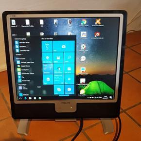 LCD-Monitor 17 tommer Philips Modell 170 - København - LCD-Monitor 17 tommer Philips Modell 170 mal 5 - København