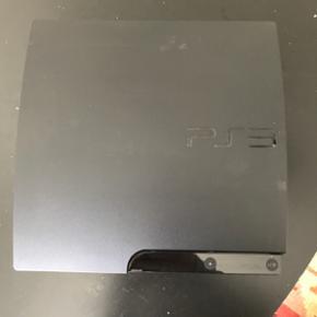 160gb PlayStation 3 inkl 2 joypads og 6  - Aalborg  - 160gb PlayStation 3 inkl 2 joypads og 6 spil: Uncharted, Uncharted 3, Saints Row 2, God of War 3, Tekken 6 og Gran Turismo 5. - Aalborg