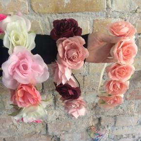 Blomster hårbånd  - Blomster hårbånd