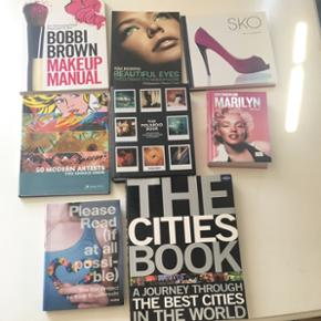 Sælger nogle forskellige coffee table b - Århus - Sælger nogle forskellige coffee table books og make up bøger. Kom med er bud - Århus