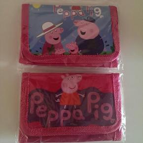 Pung med pappa gris 5 kr pr stk - Esbjerg - Pung med pappa gris 5 kr pr stk - Esbjerg