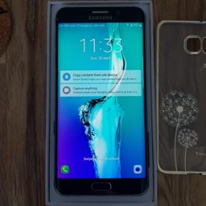 Samsung galaxy S6 edge+ meget velholdt,  - København - Samsung galaxy S6 edge+ meget velholdt, har altid haft beskyttelse både foran og bagpå. Bude er velkomme men lade være med skan bud, tak. - København