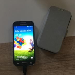 Samsung Galaxy S4 mini Fra år 2016. Meg - Odense - Samsung Galaxy S4 mini Fra år 2016. Meget lidt brugt - står som ny. Ingen ridser overhovedet da den næsten ikke er brugt. Der medfølger et cover, som beskyttelse. Byd! Er til at forhandle med! - Odense