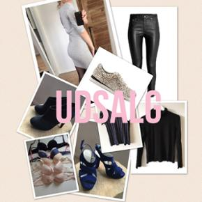Smykker, kjoler, stilletter, sneakers, p - Aalborg  - Smykker, kjoler, stilletter, sneakers, pels og meget mere sælges. Tag et kig