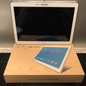 Tablet - Samsung Galaxy Tab Pro 10,1, Wi - Vejen - Tablet - Samsung Galaxy Tab Pro 10,1, Wi-Fi, 16 GB. Standen er som ny, da den altid har været i cover. Der medfølger lader og kasse Kvittering kan fremvises hvis ønsket ved køb :) Man er velkommen til at byde :) (Ved flere bud starter budrunde - Vejen