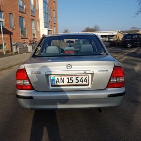 Mazda 323 1,5 benzin 5-dørs 2001 km2090 - Haderslev - Mazda 323 1,5 benzin 5-dørs 2001 km209000 service ok,køre super godt nysynet 20,01,2017 ny tendrem og ny Oliefelter,meget økonomisk bil - Haderslev