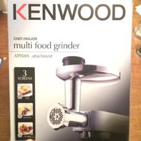 Kenwood kødhakker til røremaskine. Ald - Århus - Kenwood kødhakker til røremaskine. Aldrig brugt. - Århus