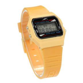 LCD retro ure rød eller gul i plast. Me - Esbjerg - LCD retro ure rød eller gul i plast. Med ur, dato og stopur. Fast pris - Esbjerg