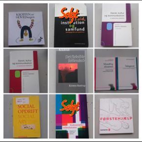 Bøger til pædagog uddannelsen, kom med - Roskilde - Bøger til pædagog uddannelsen, kom med et bud
