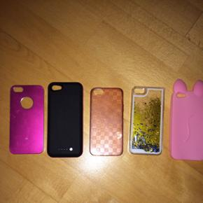 5 covers til iPhone 5/5s, 10kr pr. Stk.  - Aalborg  - 5 covers til iPhone 5/5s, 10kr pr. Stk. og 15kr for 2