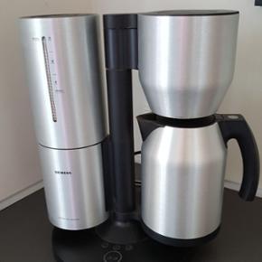 Siemens kaffemaskine med aftagelig vandb - Silkeborg - Siemens kaffemaskine med aftagelig vandbeholder - Silkeborg