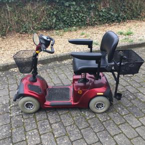 El scooter. 4 hjulet. Er ikke brugt ret  - Esbjerg - El scooter. 4 hjulet. Er ikke brugt ret meget. Har kun kørt 4 gange de sidste 2 år. Er cirka 6 år gammel. Har altid stået i garage og aldrig kørt om vinteren. Prisen er til forhandling. - Esbjerg