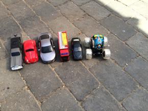6 biler. - Århus - 6 biler. - Århus