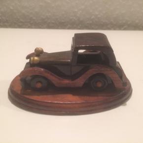 Bil 10 cm lang i træ - Fredericia - Bil 10 cm lang i træ - Fredericia