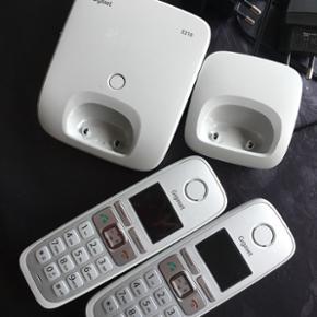 Gigaset E310 med to telefoner - Århus - Gigaset E310 med to telefoner - Århus