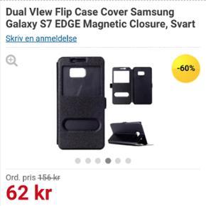Sælger Samsung Galaxy s7 EDGE cover - u - Aalborg  - Sælger Samsung Galaxy s7 EDGE cover - ubrugt :-) Fejl køb da jeg ejer en som ikke er edge