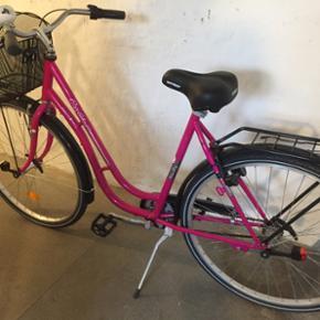 Cykel 3gear næsten ik brugt har stået  - Århus - Cykel 3gear næsten ik brugt har stået inde hele tiden lås lygter medfølger - Århus